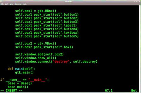 tutorial python gtk python gtk gui tutorial 10 more on box containers