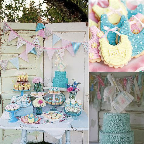 vintage baby shower ideas vintage themed baby shower popsugar