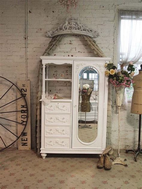 simply shabby chic armoire painted cottage chic shabby white french armoire