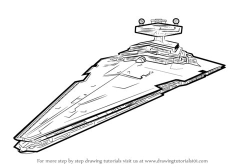 star wars coloring pages star destroyer learn how to draw imperial class star destroyer from star
