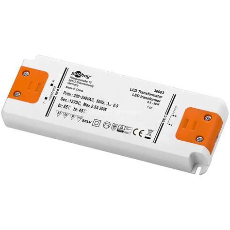 Trafo Led lightmaxx led trafo 30w 12v for leds without electronic