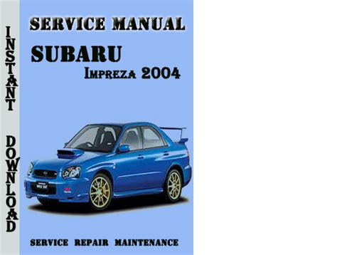 manual repair free 1994 subaru impreza engine control subaru impreza wrx 2004 service repair manual pdf download downlo