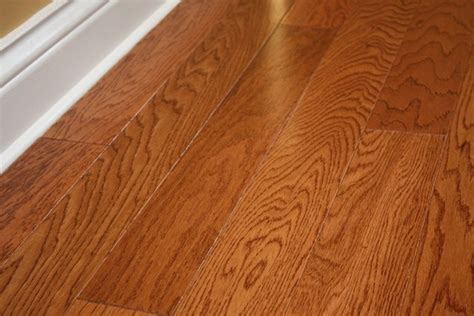 3 8 Hardwood Flooring by Oak Butterscotch Lincoln 3 8 X 3 1 2 Quot Engineered Hardwood