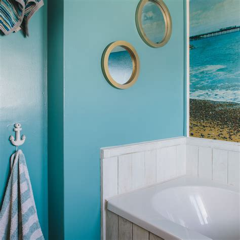 beach scene bathroom decor nautical bathroom ideas ideal home