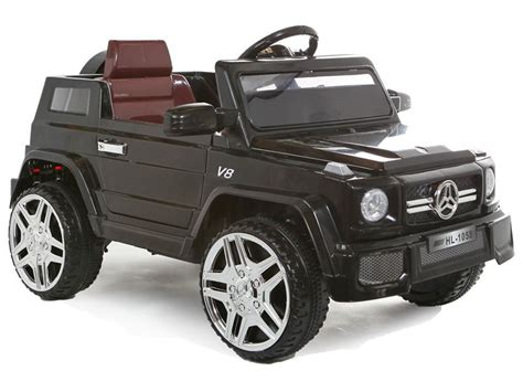 jeep wagon black ride on jeep black mercedes g wagon 12v battery
