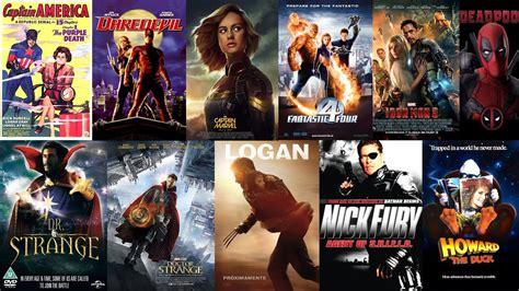 film marvel sortie all marvel movies 1944 2019 youtube