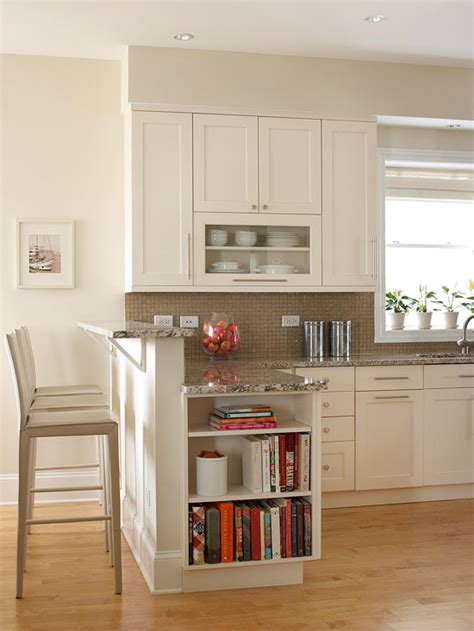 Open Front Kitchen Cabinets Kitchens That Maximize Small Footprints Glass Front