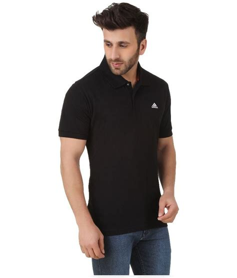 Polo T Shirt Adidas 7 adidas black polo t shirt