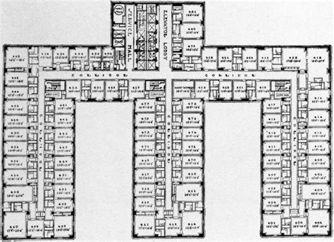 floor plan hotel archive of affinities