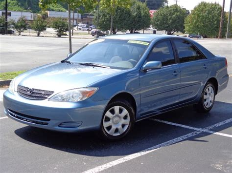 2003 Toyota Camry Value Green 2003 Toyota Camry