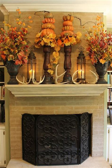 212 best images about fall mantle decorating ideas on