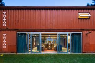 old lady shipping container house is a modern masterpiece