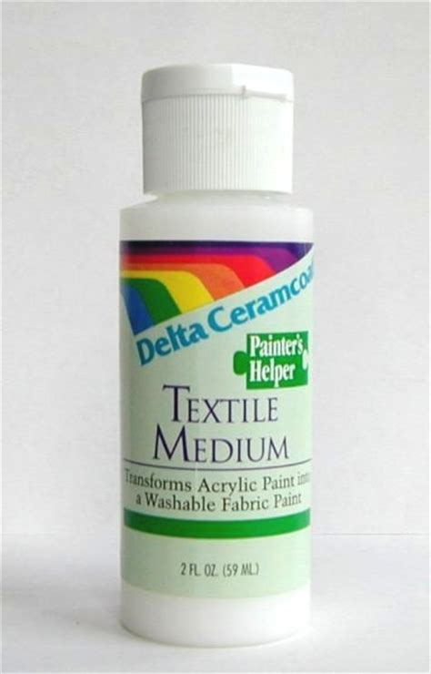acrylic paint fabric medium fabric stencil paint and textile medium for stenciling