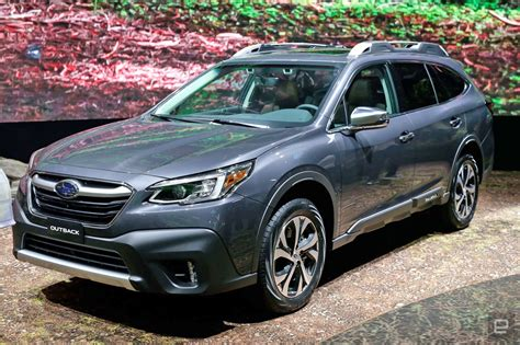 2020 Subaru Outback Turbo by With Its 2020 Outback Subaru Bets On Turbo Engines And