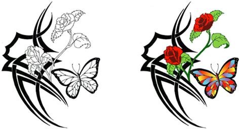 free free flower tattoo designs download free clip art