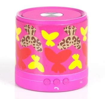 Chicbuds Porta Bluetooth Speaker Flora Murah usa free shipping chic buds porta bluetooth wireless speaker leandra 11street malaysia