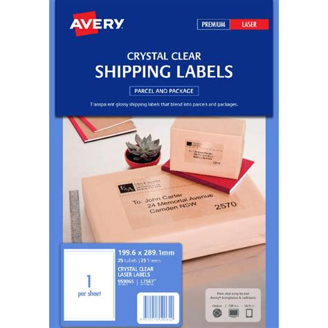 Avery Shipping Labels 6 Per Page