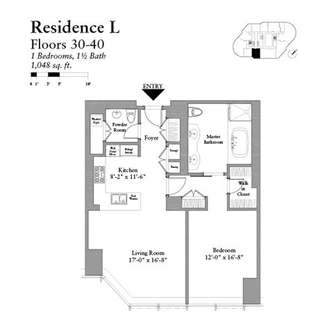 trump chicago floor plans condos in chicago one bedroom residential condos