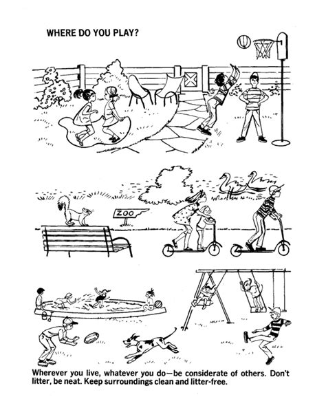 coloring book pages environment environment daycoloring pages download and print for free