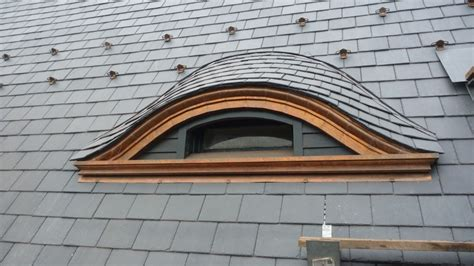 Eyebrow Dormer Slate Roofing For Eyebrow Dormer Construction