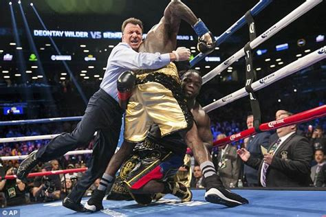 deontay wilder chillingly claims i want a body on my