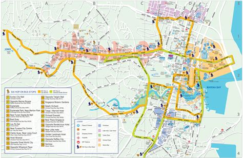 singapore on a map singapore map detailed city and metro maps of singapore