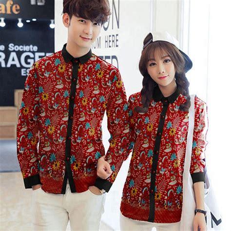 Kemeja Batik Fashion Prada Bb55 jual baju prada baju kemeja fashion