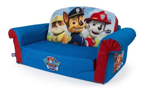 paw patrol fold out sofa marshmallow furniture flip open sofa bed paw patrol chair