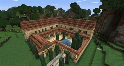 house ideas minecraft minecraft building ideas roman villa