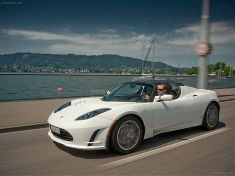 tesla roadster sport tesla roadster 2012 exotic car wallpaper 15 of 32