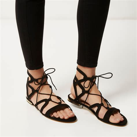 black tie up sandals tie up sandals flats 28 images tie up toe ballet flats