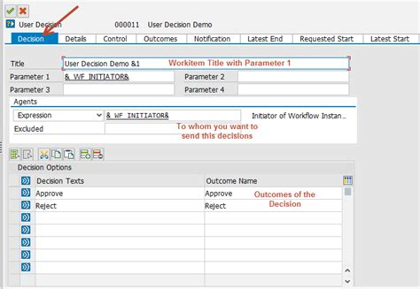 abap workflow questions user decision step in sap workflow sap fiori sap hana