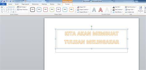 cara membuat tulisan halaman di word 2010 panduan sederhana microsoft office 2007 cara membuat