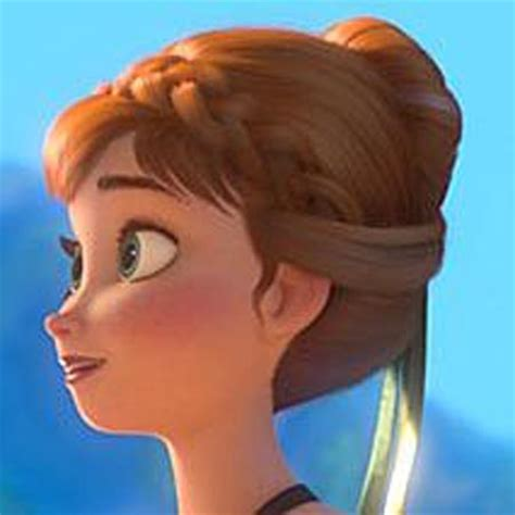 anna from frozen hairstyle pretty hair is fun pin of the day no 3 anna hairstyle