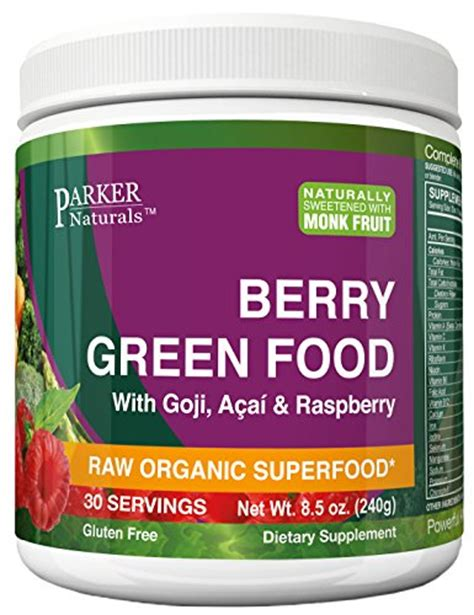 Vegan Detox Greens by 24 Hour Sale Berry Green Superfood Powder With Organic