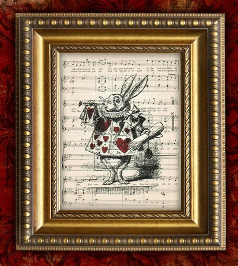 alice in wonderland home decor alice in wonderland home decor wall decor vintage by