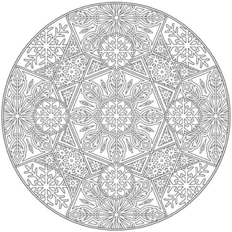 creative haven snowflake mandalas pin rudolph1 coloring for kids christmas pages on
