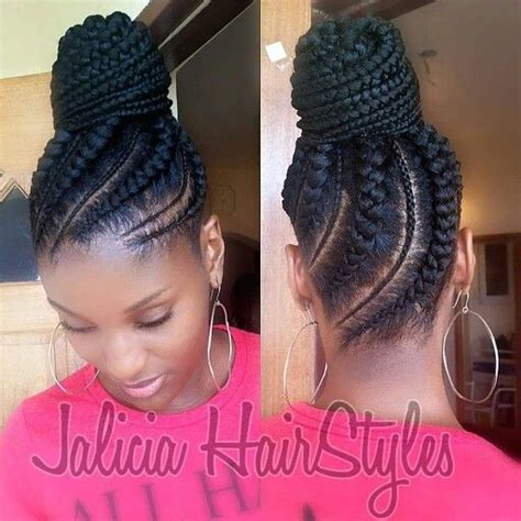 Black Hairstyles For Hair Only by 25 Best Ideas About Cornrows Updo On Cornrow
