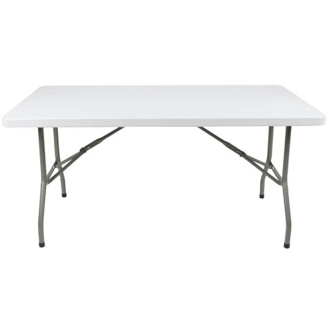 30 x 60 folding table folding table 30 quot x 60 quot heavy duty plastic white granite
