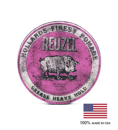 Pomade Reuzel Pink reuzel pink grease heavy hold hollands finest hair pomade