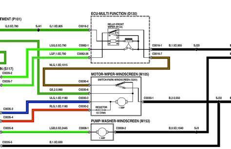 wiring diagram for fiat uno wiper motor wiring wiring
