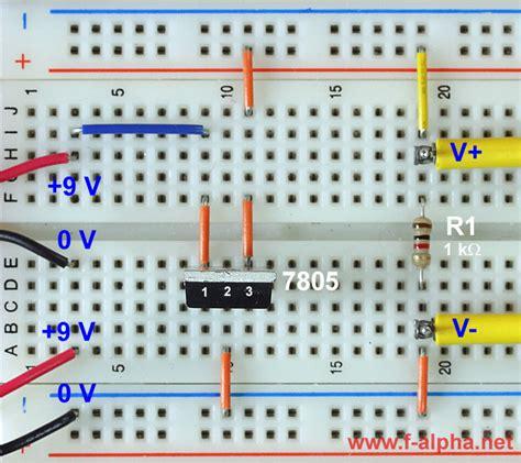 integrated circuit regulator f alpha net experiment 2 voltage regulator ii