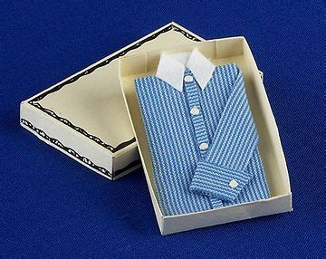 bedroom accessories shirt  box dolls house parade