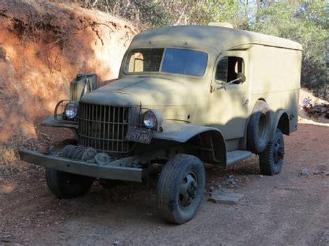 Dodge Power Wagon For Sale Craigslist 1941 Power Wagon Ambulance Auburn Ca Craigslist
