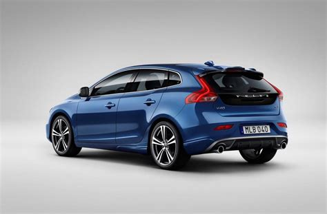 what is volvo 2017 volvo v40 revealed gets thor hammer led headlights