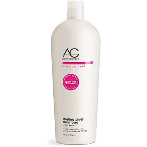 ag hair cosmetics sterling silver toning shoo 33 8 oz ag hair colour care sterling silver toning shoo 33 8 oz