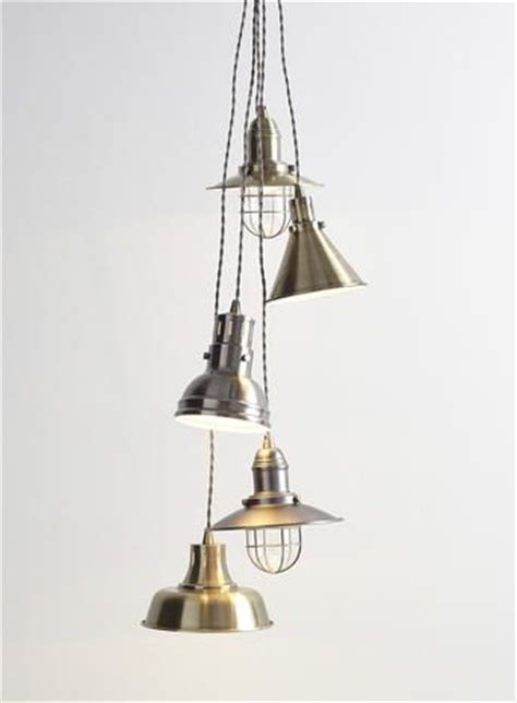 pendant cluster ceiling light with 5 industrial style cage lights 17 best images about home lighting general on pinterest