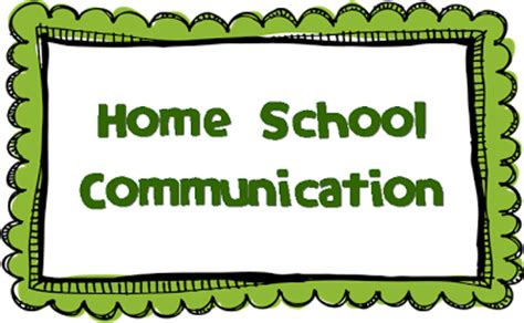 home school communication cuellar s corner