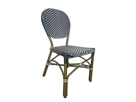 Navy Bistro Chairs Wicker Cafe Bistro Chairs Your Choice