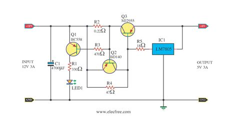 how to step dc voltage using resistors 12v to 5v 3a dc converter step regulator